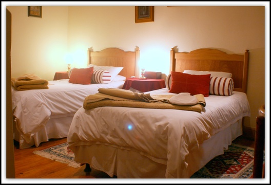 Twin Room 2 - Knysna Manor House Guesthouse Accommodation
