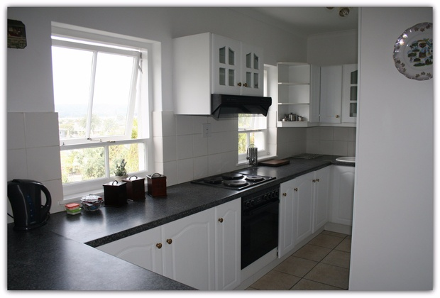 Kitchenette in Self Catering Flat