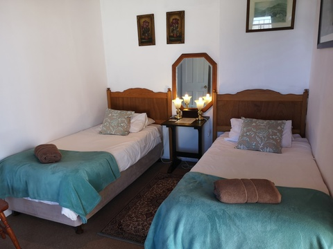 Twin Room B- Knysna Manor House Guesthouse Accommodation